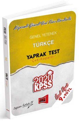 KPSS Kitapları>KPSS GY - GK>KPSS GY - GK Yaprak Testler>KPSS Türkçe Yaprak Test Kitabı