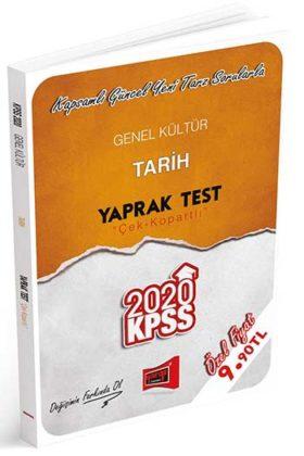 KPSS Kitapları>KPSS GY - GK>KPSS GY - GK Yaprak Testler>KPSS Tarih Yaprak Test Kitabı