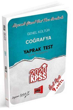 KPSS Kitapları>KPSS GY - GK>KPSS GY - GK Yaprak Testler>KPSS Coğrafya Yaprak Test Kitabı