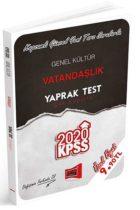 KPSS Kitapları>KPSS GY - GK>KPSS GY - GK Yaprak Testler>KPSS Vatandaşlık Yaprak Test Kitabı