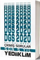 DGS Kitapları>DGS Çıkmış Sorular Kitabı