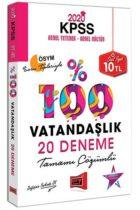 KPSS Kitapları>KPSS GY - GK>KPSS GY - GK Deneme>KPSS Vatandaşlık Deneme Kitabı