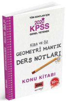 KPSS Kitapları>KPSS GY - GK>KPSS GY - GK Konu Anlatımlı>KPSS Mantık Konu Kitabı