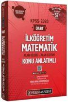 KPSS Kitapları>KPSS Öğretmen Alan Sınavı>KPSS ÖABT Konu Anlatımlı>İlköğretim Matematik Konu Kitabı