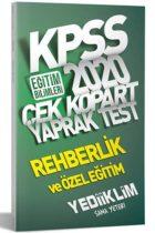 KPSS Kitapları>KPSS Eğitim Bilimleri>KPSS Eğitim Yaprak Testler Kitabı
