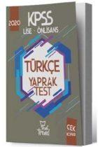 KPSS Kitapları>Lise - Önlisans>Lise Önlisans Yaprak Testler Kitabı