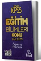 KPSS Kitapları>KPSS Eğitim Bilimleri>KPSS Eğitim Konu Anlatımlı Kitabı