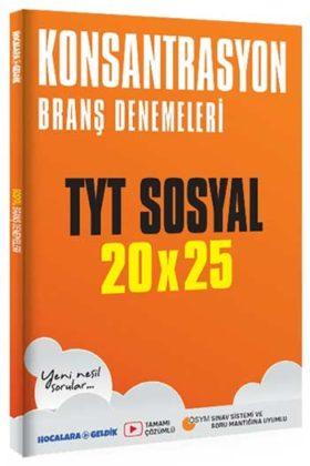 YKS Kitapları>YKS 1. Oturum TYT>TYT Deneme>TYT Sosyal Bilimler Deneme Kitabı