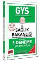 GYS Sınavları>Görevde Yükselme Sınavları>GYS Sağlık Bakanlığı Kitabı