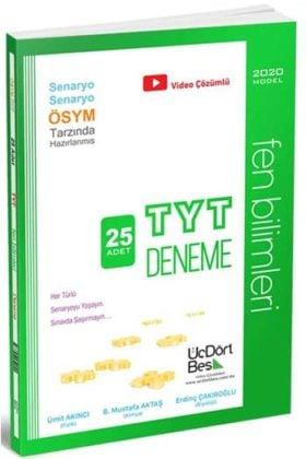 YKS Kitapları>YKS 1. Oturum TYT>TYT Deneme>TYT Fen Bilimleri Deneme Kitabı
