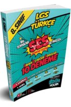 Ortaöğretim>8. Sınıf|LGS Kitapları>LGS Deneme>LGS Türkçe Deneme Kitabı