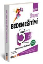 KPSS Kitapları>KPSS Öğretmen Alan Sınavı>KPSS ÖABT Deneme Sınavları>Beden Eğitimi Öğretmenliği Deneme Kitabı