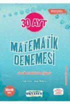 YKS Kitapları>YKS 2. Oturum AYT>AYT Sayısal Bölüm>AYT Sayısal Deneme>AYT Matematik Deneme Kitabı