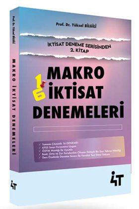 KPSS Kitapları>KPSS A Grubu>KPSS A Grubu Deneme>KPSS A İktisat Deneme Kitabı