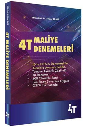 KPSS Kitapları>KPSS A Grubu>KPSS A Grubu Deneme>KPSS A Maliye Deneme Kitabı