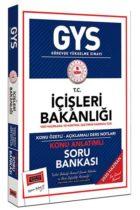 GYS Sınavları>Görevde Yükselme Sınavları>GYS İçişleri Bakanlığı Kitabı