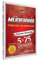 KPSS Kitapları>KPSS Öğretmen Alan Sınavı>KPSS ÖABT Deneme Sınavları>Türk Dili ve Edebiyatı Deneme Kitabı