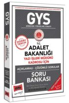 GYS Sınavları>Görevde Yükselme Sınavları>GYS Adalet Bakanlığı Kitabı