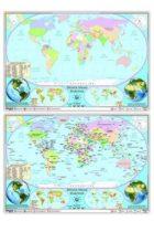 Ankara Yayıncılık Dünya Siyasi Haritası (Yazılabilir Silinebilir)