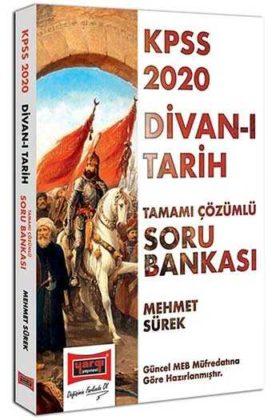 Yargı Yayınları 2020 KPSS Divan-ı Tarih Tamamı Çözümlü Soru Bankası
