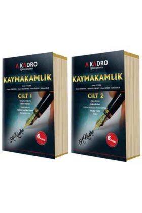 A Kadro Yayınları Kaymakamlık Konu Anlatım Kitabı 6.Baskı