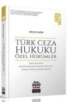 Savaş Yayınları Türk Ceza Hukuku Özel Hükümler Altın Seri 6. Baskı Nisan 2020