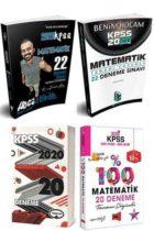 4 Büyüklerden 2020 KPSS Matematik Kazandıran Tamamı Çözümlü Deneme Seti