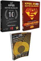 2020 KPSS Eğitim Bilimleri 3 Büyüklerden Tamamı Çözümlü Kazandıran Deneme Seti
