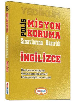 Yediiklim Yayınları Polis Misyon Koruma Sınavlarına Hazırlık İngilizce