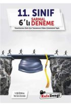 KafaDengi Yayınları 11. Sınıf Sarmal Video Çözümlü 6 Deneme
