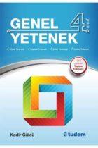 Tudem Yayınları 4. Sınıf Genel Yetenek Kitabı