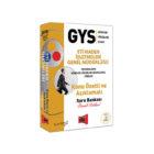 Yargı Yayınları GYS Eti Maden İşletmeleri Genel Müdürlüğü Konu Özetli ve Açıklamalı Soru Bankası
