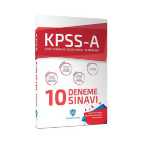 KPSS A Grubu Çözümlü 10 Deneme Sınavı