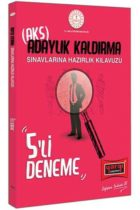 Yargı Yayınları MEB Adaylık Kaldırma (AKS) Sınavlarına Hazırlık Kılavuzu 5'li Deneme