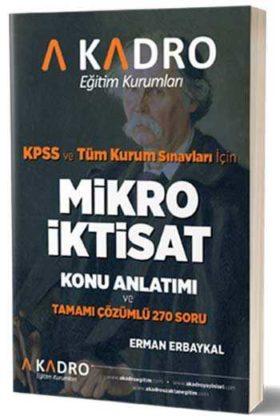 A Kadro Yayınları KPSS A Grubu Mikro İktisat Konu Anlatımlı