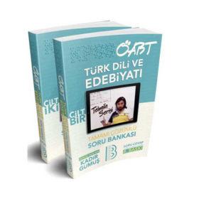 Benim Hocam Yayınları 2019 ÖABT Türk Dili ve Edebiyatı Öğretmenliği Tamamı Çözümlü Soru Bankası 2 Cilt