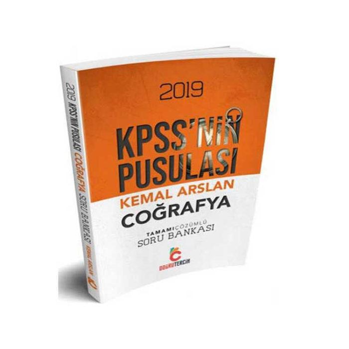 Doğru Tercih Yayınları 2019 KPSS'nin Pusulası Coğrafya Tamamı Çözümlü Soru Bankası