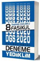 Yediiklim Yayınları 2020 DGS Sayısal Sözel Tamamı Çözümlü 8 Fasikül Deneme