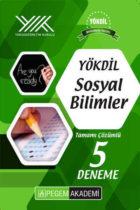 Pegem Yayınları YÖKDİL Sosyal Bilimleri Tamamı Çözümlü 5 Deneme
