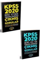 Yediiklim Yayınları 2020 KPSS GY-GK Konularına Göre Düzenlenmiş Çıkmış Sorular Seti