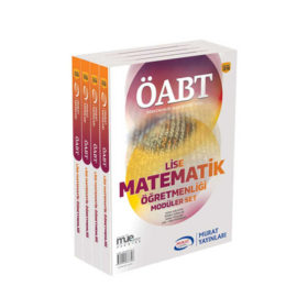 Murat Yayınları ÖABT Lise Matematik Öğretmenliği Konu Anlatımlı Modüler Set
