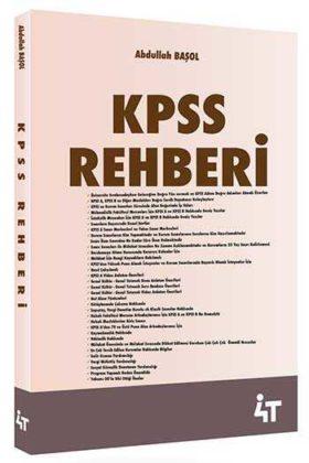 4T Yayınları KPSS Rehberi