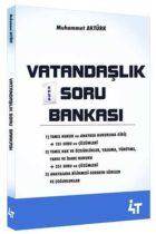 4T Yayınları KPSS Vatandaşlık Soru Bankası
