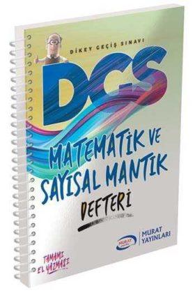 Murat Yayınları DGS Matematik ve Sayısal Mantık Defteri