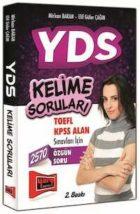 YDS Kelime Soruları TOEFL KPSS Alan Sınavı İçin Yargı Yayınları