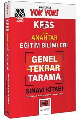 Yargı Yayınları KPSS Eğitim Bilimleri Anahtar Genel Tekrar Tarama Tamamı Çözümlü 1800 Soru Kitabı