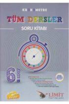 Limit Yayınları 6. Sınıf Tüm Dersler Kronometre Soru Kitabı