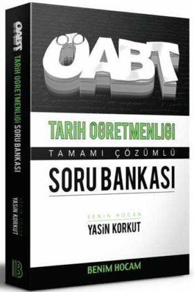 Benim Hocam Yayınları 2020 ÖABT Tarih Öğretmenliği Tamamı Çözümlü Soru Bankası